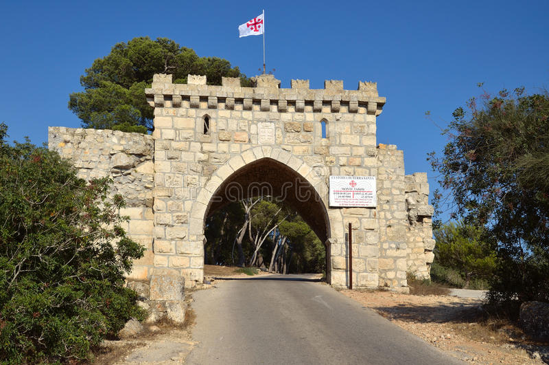 Download Mount Tabor Gates All Winds Stock Photo - Image of galilee, transfiguration: 20701152