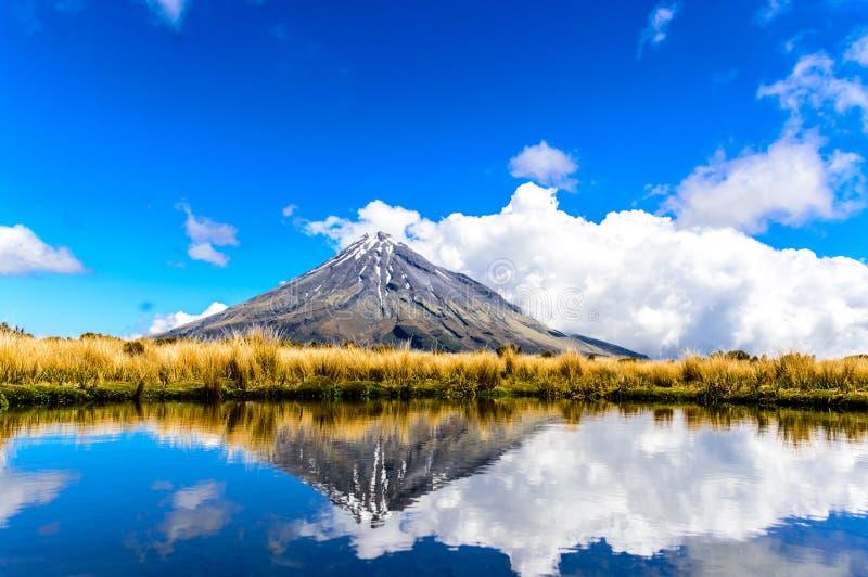 Mount Taranaki royalty free stock image