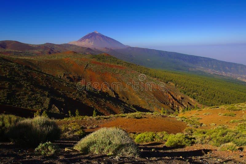 Mount Teide National Park stock images