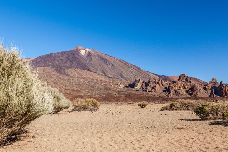 Mount Teide, Tenerife, Spain. Royalty Free Stock Photos