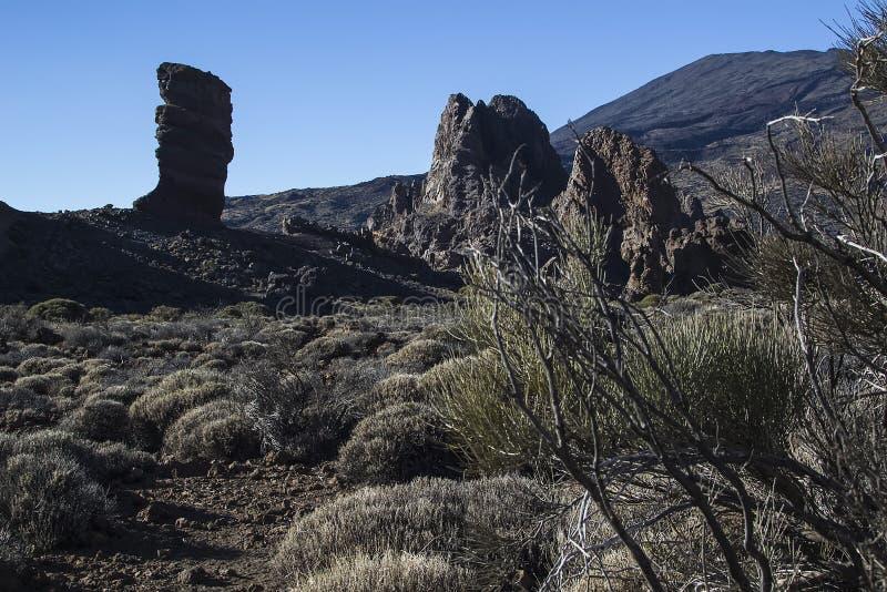 Teide Volcano Stock Photo