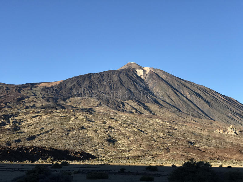 Mount Teide. A volcano on Tenerife in the Canary Islands royalty free stock photos