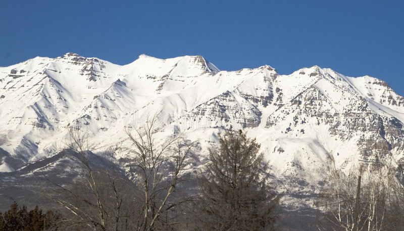 Download Mount Timpanogos From The Southwest Stock Photo - Image: 514204