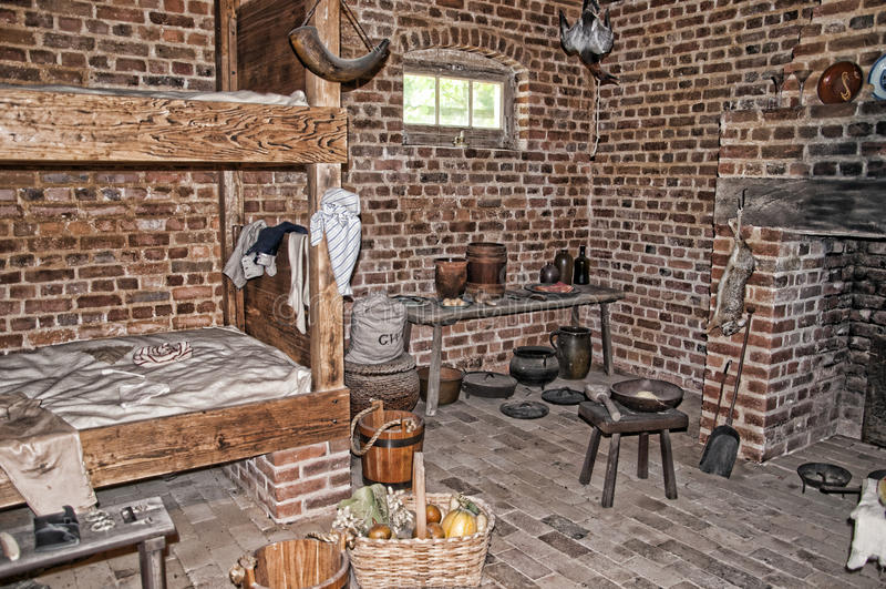 Mount Vernon a casa de George Washinton nos bancos do Rio Potomac nos EUA imagem de stock