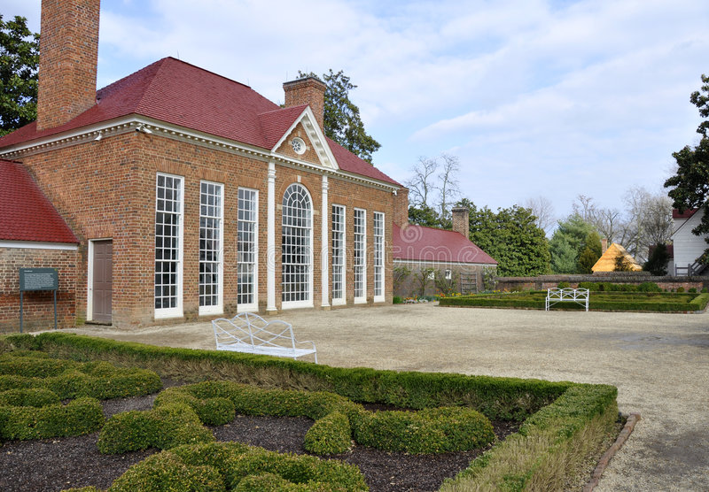 Mount Vernon Greenhouse Royalty Free Stock Photography