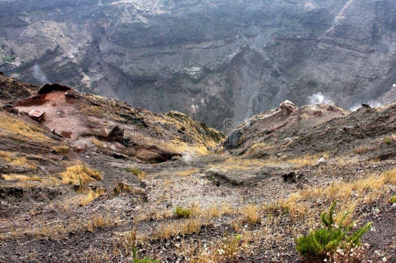 Mount Vesuvius. Detail of mount vesuvius. Mount Vesuvius (in Italian Monte Vesuvio and in Latin Mons Vesuvius) is a stratovolcano east of Naples, Italy. It is royalty free stock photos