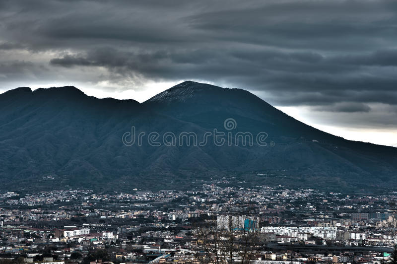 Mount Vesuvius stock photos