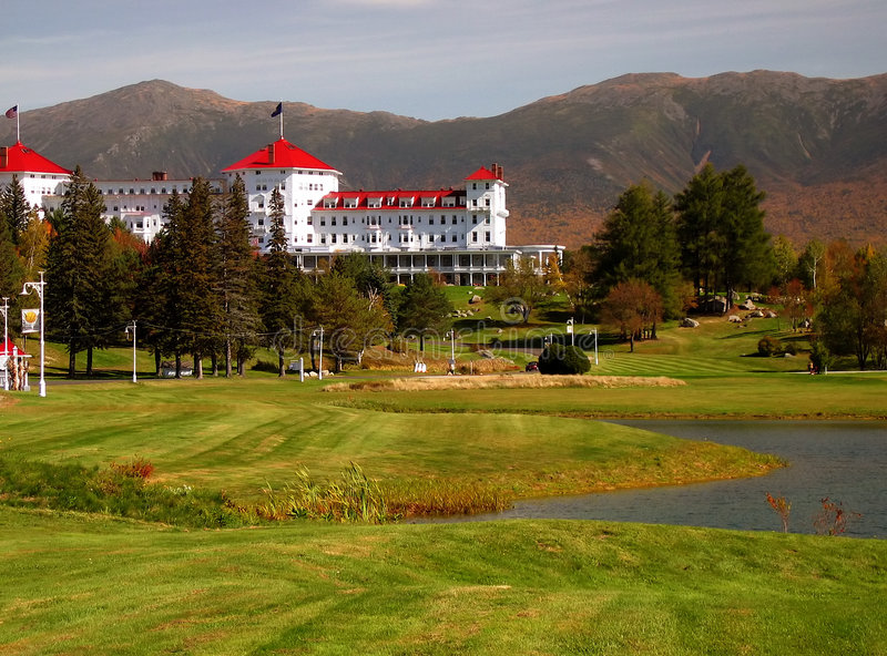 Mount Washington Resort stock image
