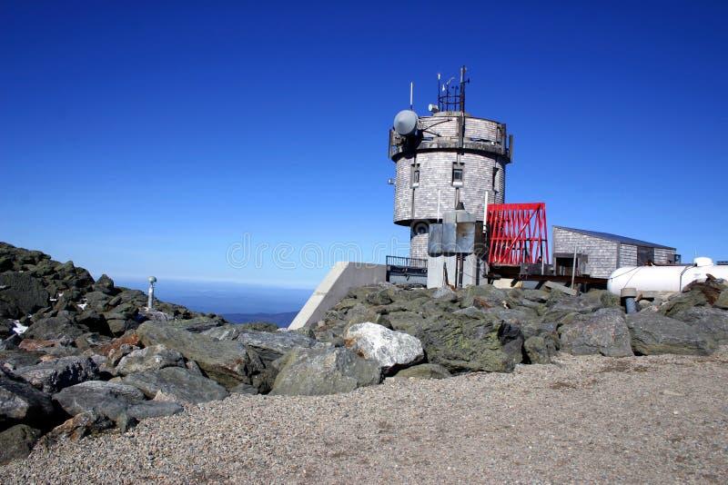 Mount Washington Weather Station royalty free stock photos