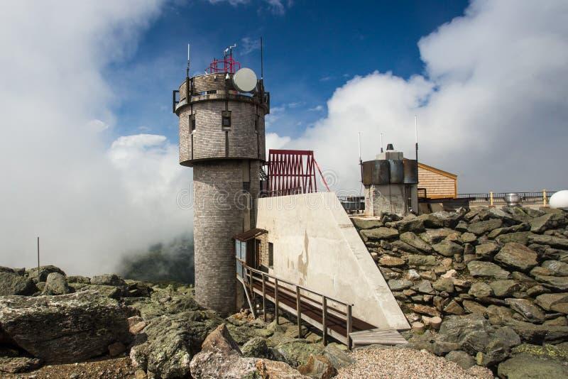 Mount Washington Weather Station stock photos
