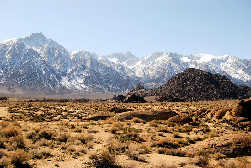 Download Mount Whitney stock image. Image of mountain, fourteen - 13758723