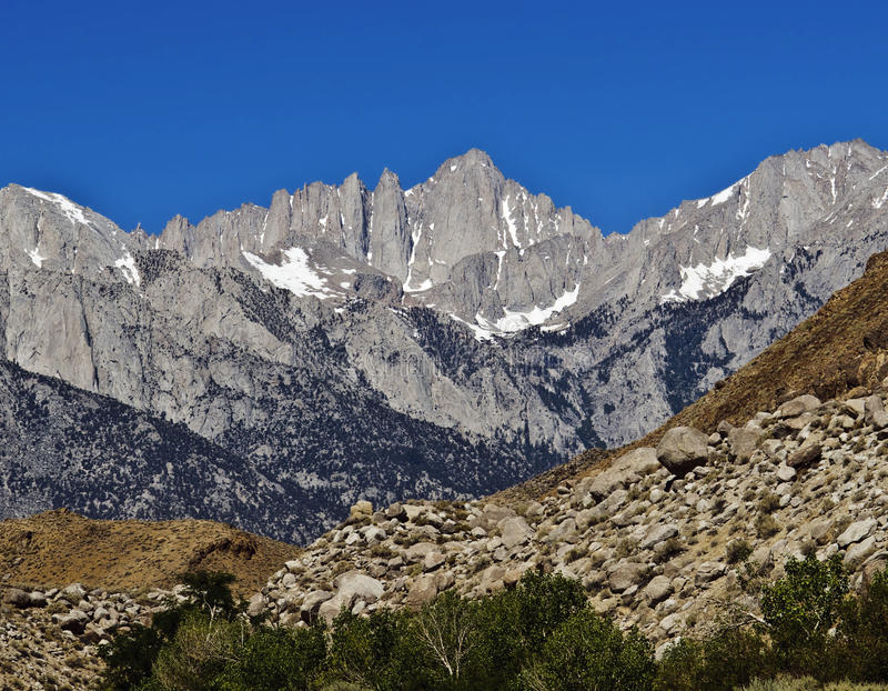 Mount Whitney fotos de stock