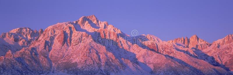 Mount Whitney стоковое фото