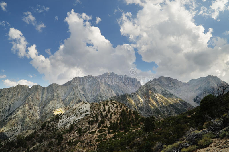 Download Mount Williamson stock image. Image of clouds, steep - 28225025