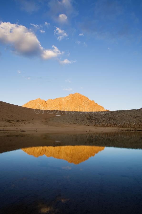 Download Mount Williamson Reflection Stock Image - Image: 25679865