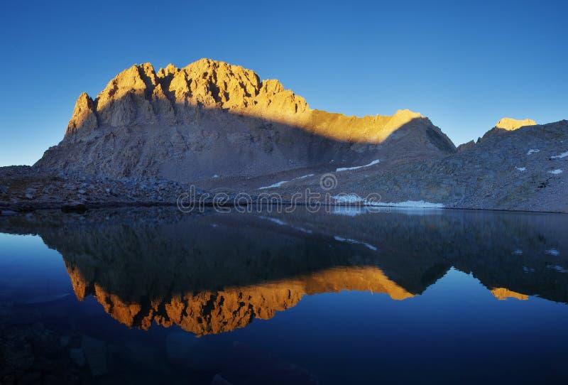 Download Mount Williamson Reflection Stock Image - Image of nature, lake: 27910683