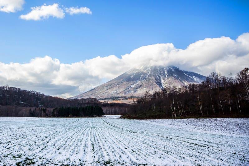 Mount Yotei Hokkaido Japan, landscape stock photos
