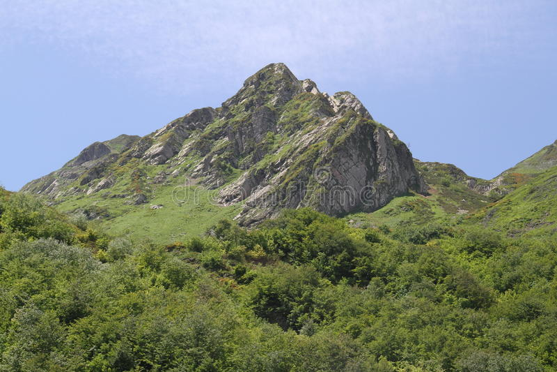 Mountain горы вершина ачишхо achishcko beauty world royalty free stock photography