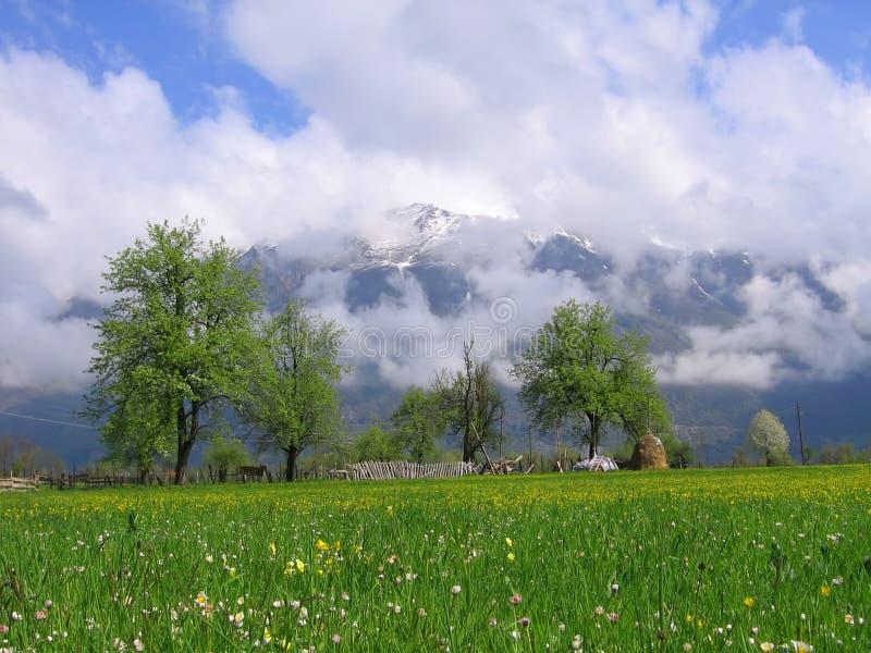 Mountain. Prokletije in Montenegro royalty free stock photography