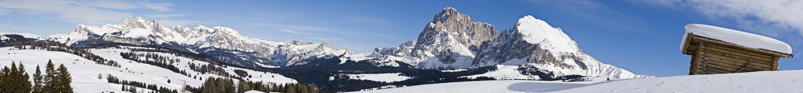 Download Mountain alps panorama stock image. Image of white, cloud - 11980505