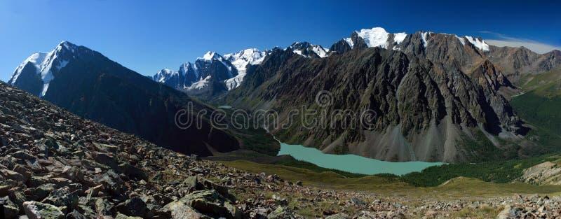 Mountain Altai. Lake of Shavlinskoe.