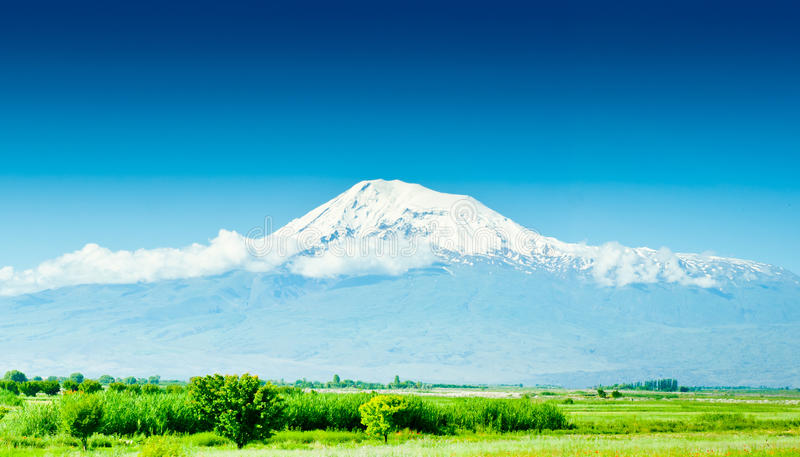 Mountain Ararat royalty free stock images