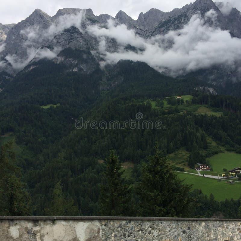 Mountain in Austria stock photo
