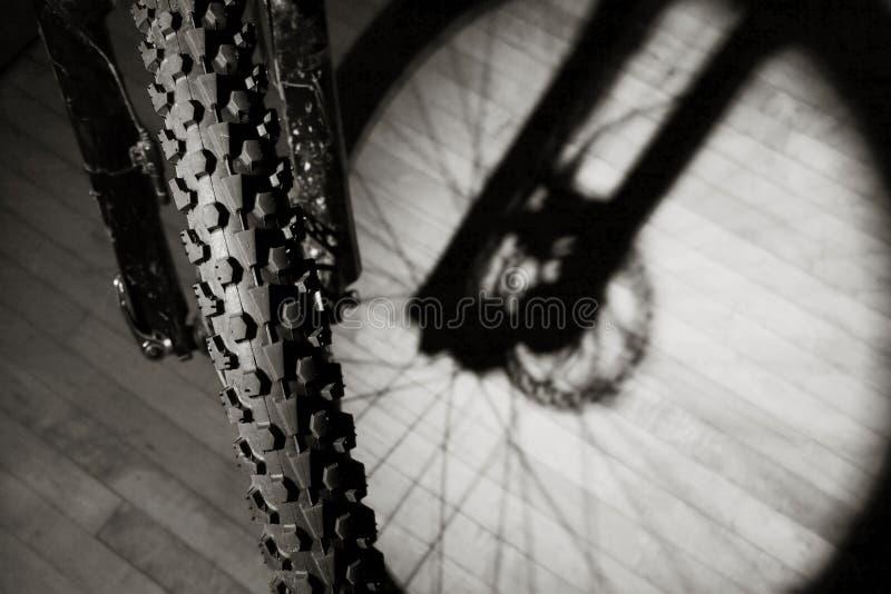Mountain Bike in Apartment stock image