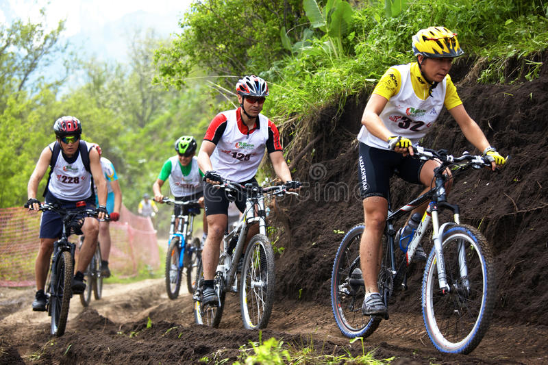 Download Mountain Bike Cross-country Race Editorial Photo - Image: 9635741