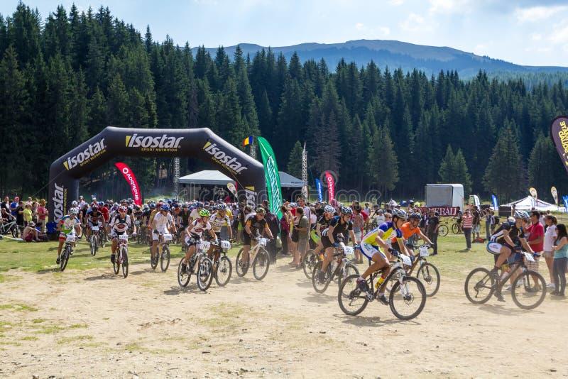 Mountain Bike Marathon Editorial Photo
