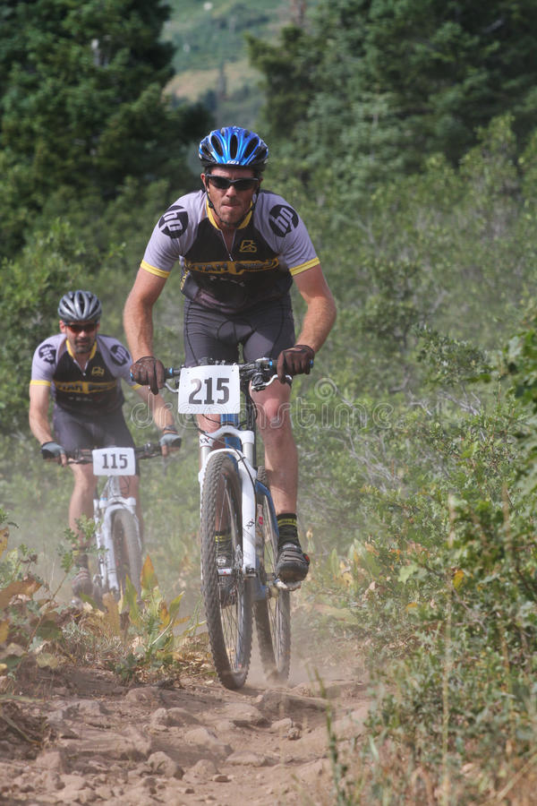 Download Mountain bike race editorial stock image. Image of expeditious - 17667444