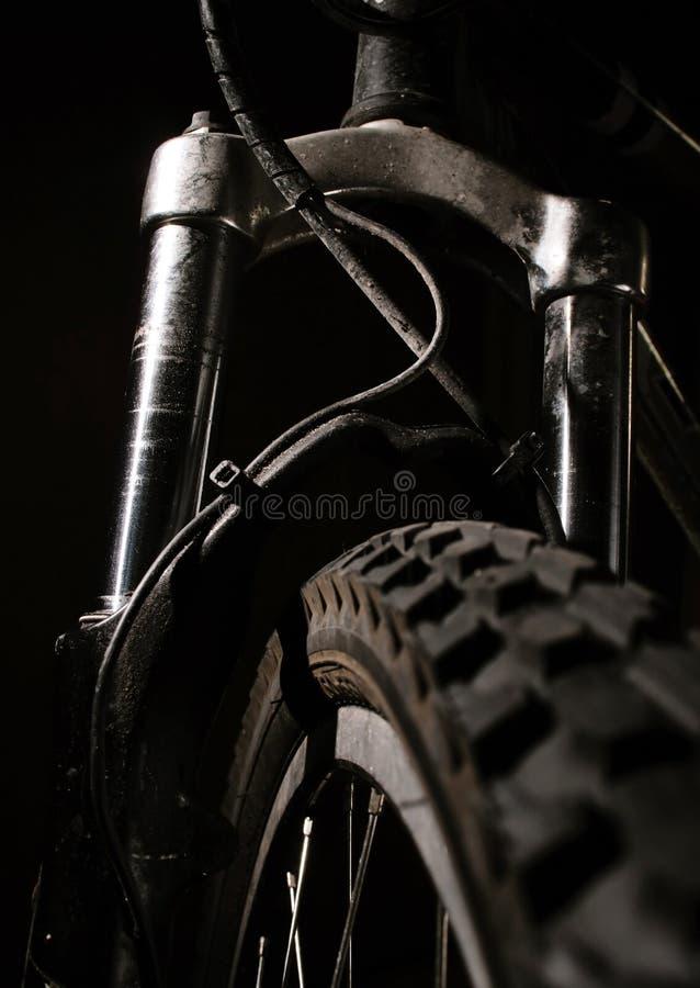 Mountain Bike Shocks royalty free stock images