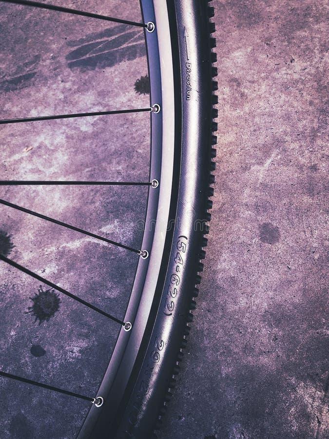 Free Mountain Bike Wheel Royalty Free Stock Photography - 151329827