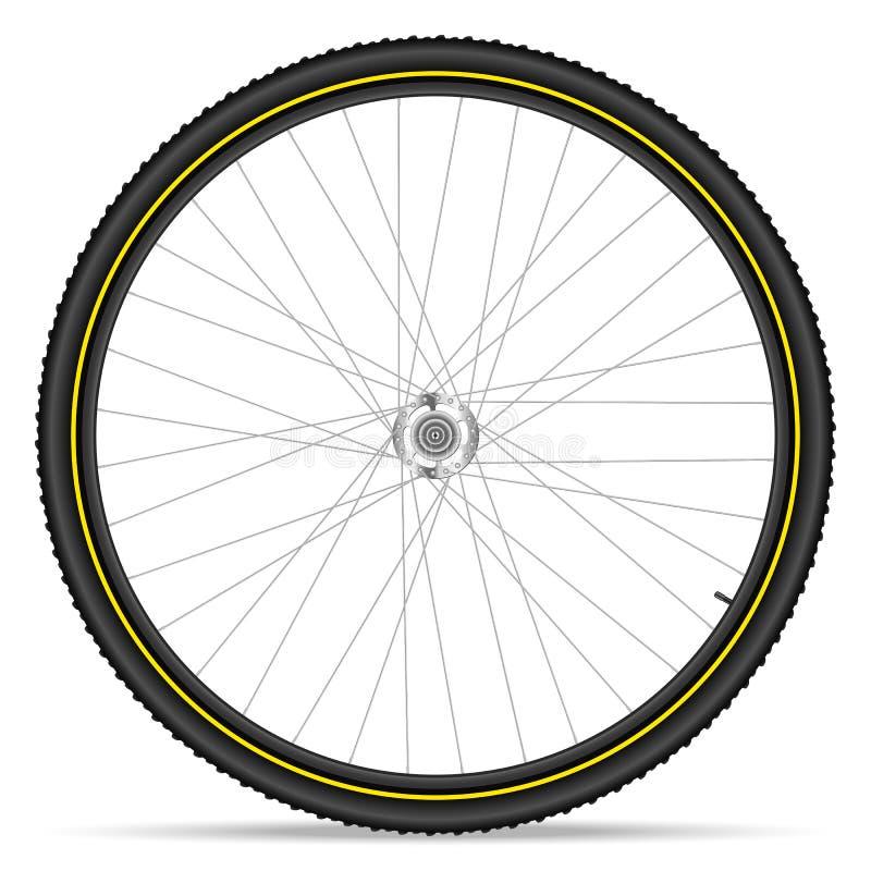 Free Mountain Bike Wheel Royalty Free Stock Photography - 48777717