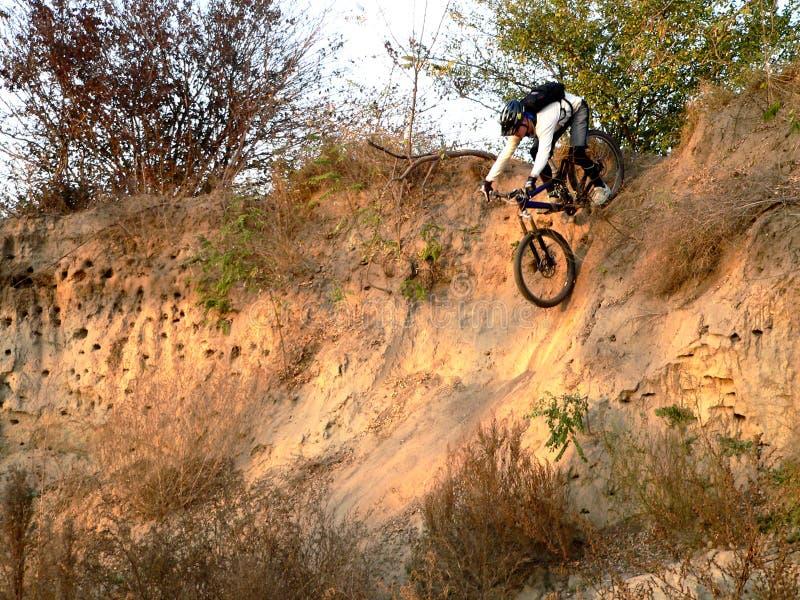 Download Mountain biker stock photo. Image of danger, dangerous - 1124688