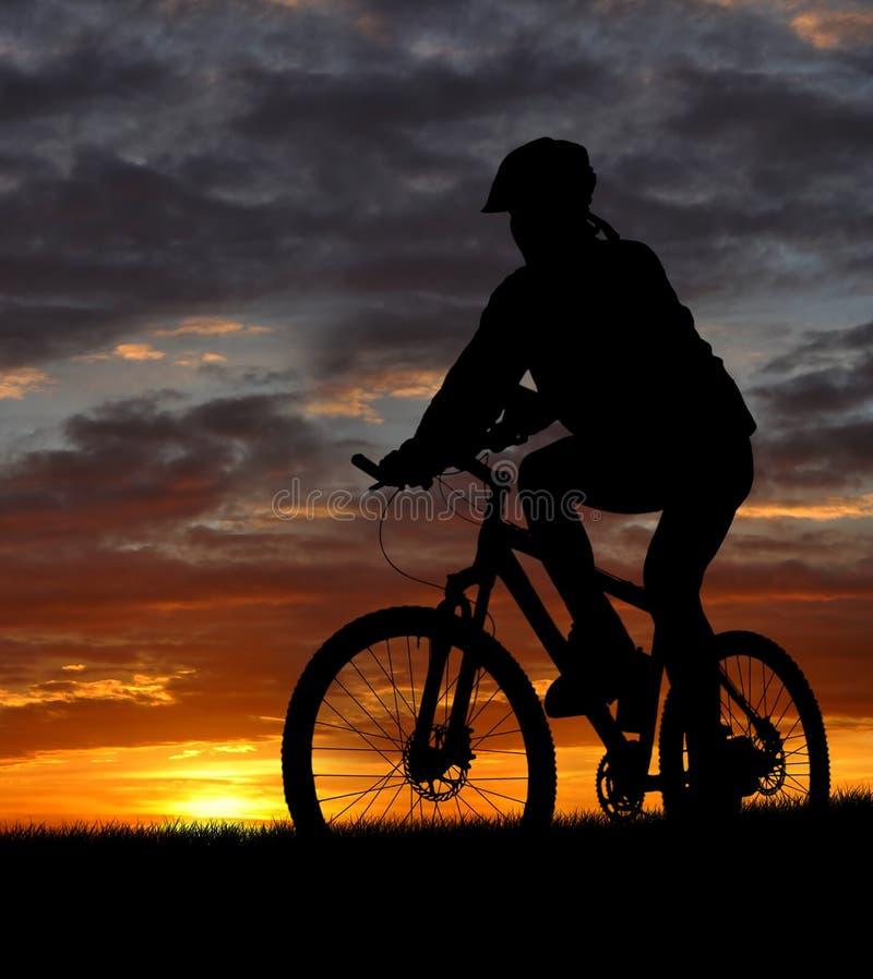 Download Mountain biker stock image. Image of recreation, tour - 17508667