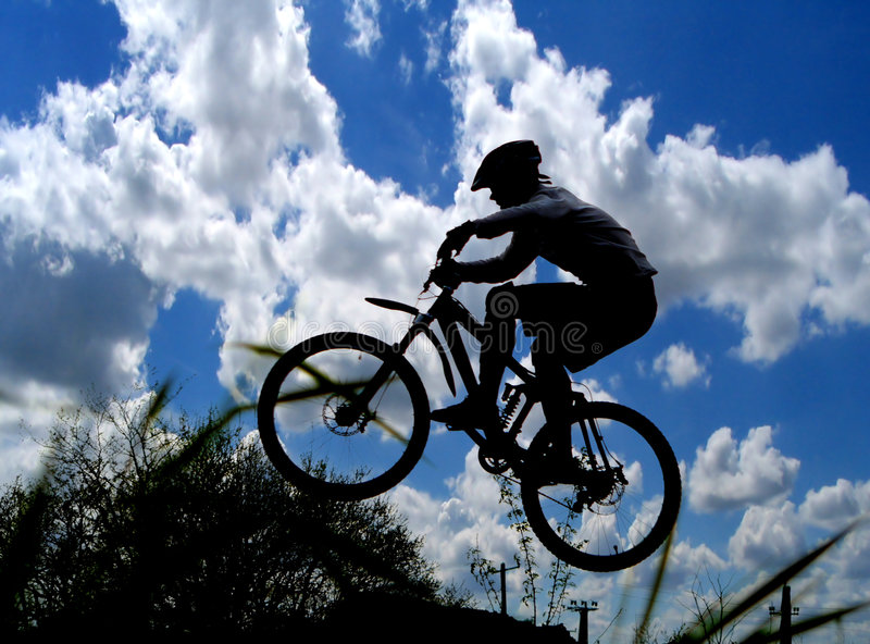 Download Mountain biker stock photo. Image of ride, background - 1896208