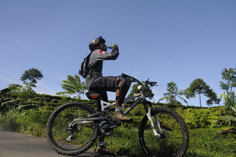 Download Mountain Biker Editorial Photography - Image: 40651592