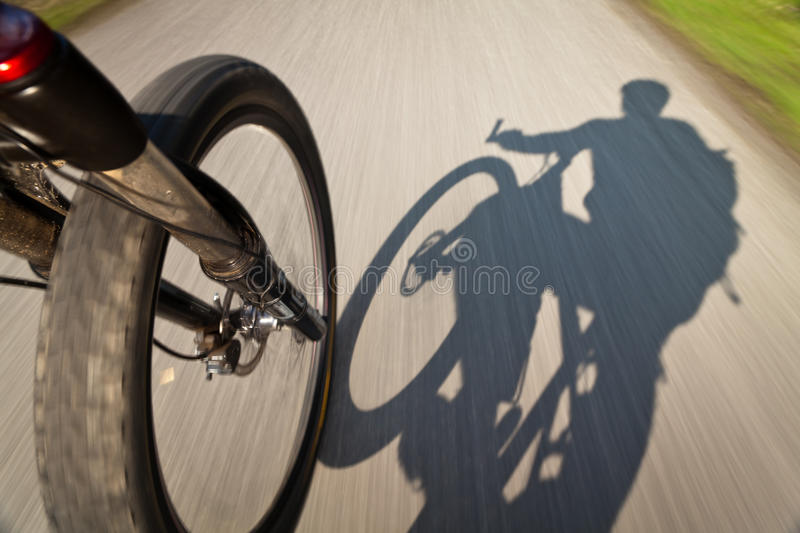 Mountain biking stock photos