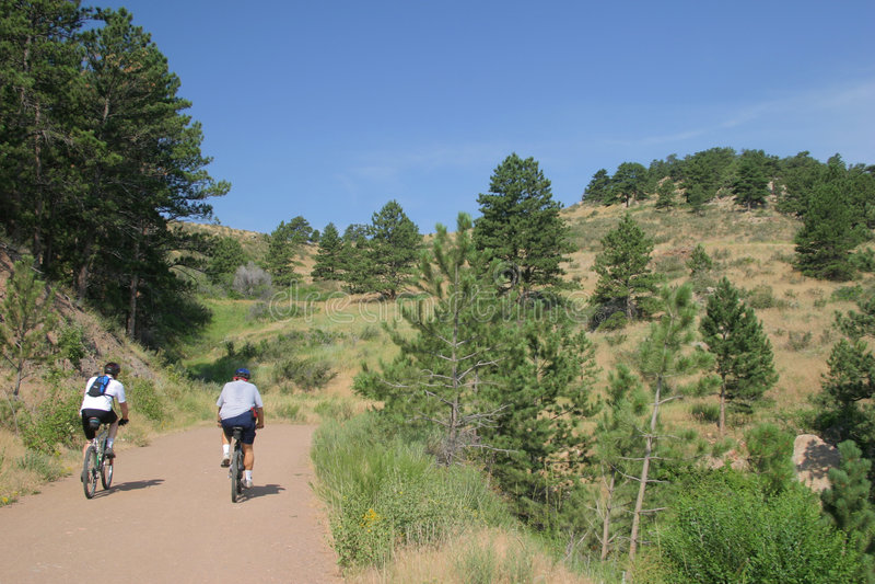 Download Mountain Biking In Colorado Stock Image - Image of dirt, extreme: 165143