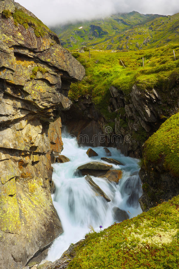 Mountain Brook royalty free stock photography