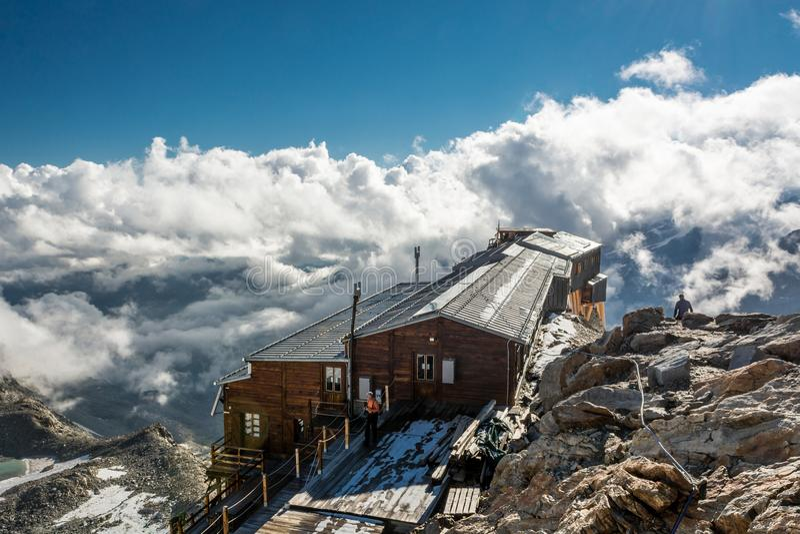 Mountain cabin. royalty free stock photo