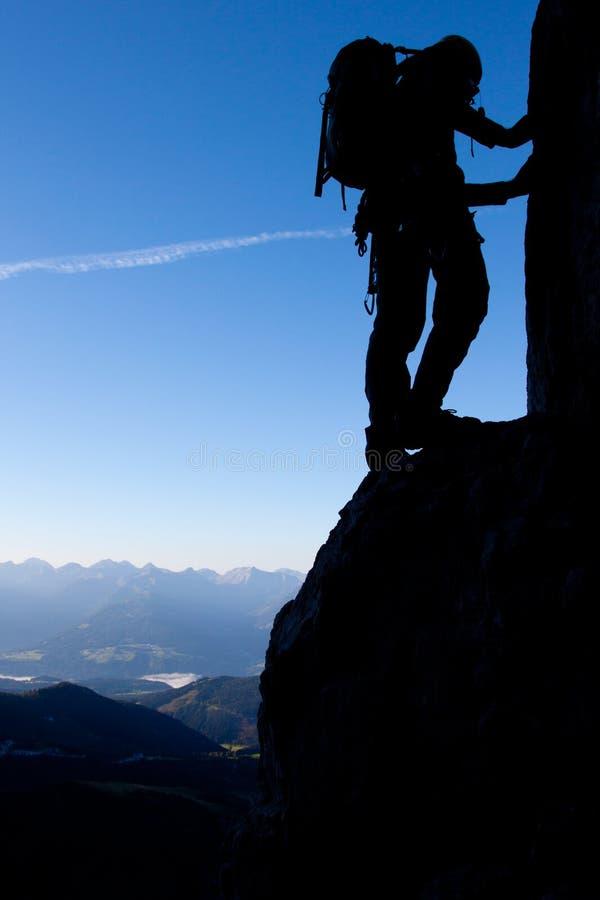 Free Mountain Climber Royalty Free Stock Image - 21787506