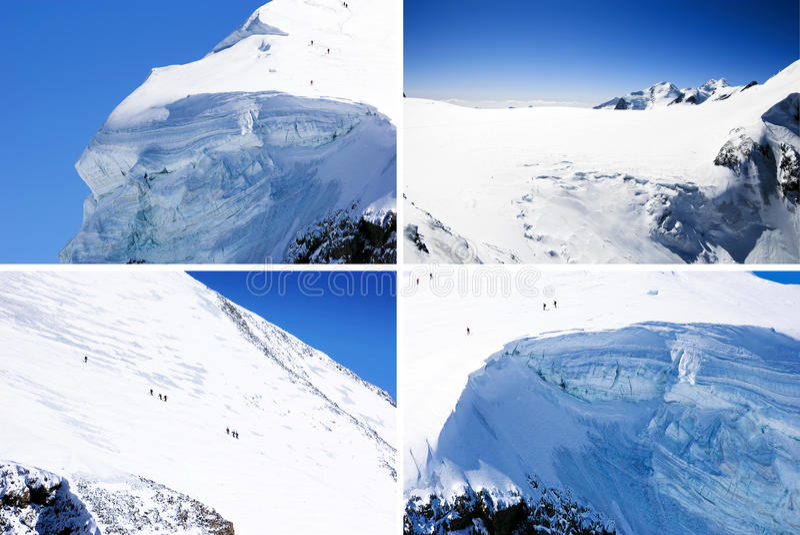 Mountain Climbing Stock Photography