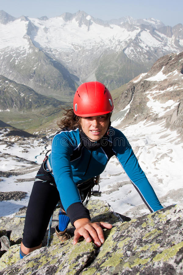 Download Mountain Climbing Royalty Free Stock Images - Image: 25908419