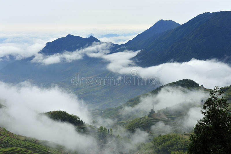 Download Mountain and cloud stock image. Image of natural, outdoor - 24376177