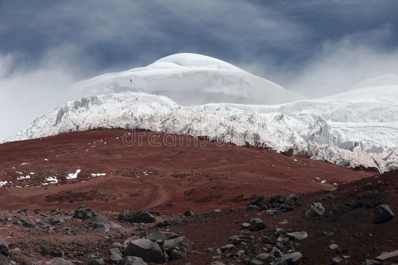 Mountain Cotopaxi royalty free stock image