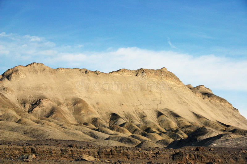Mountain in Death Valley royalty free stock images