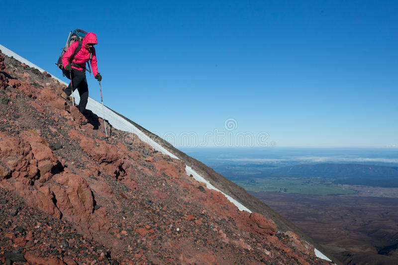 Download Mountain descend stock photo. Image of active, sport - 31966194