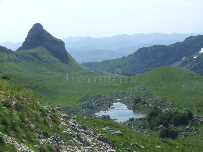 Mountain Durmitor. In Montenegro royalty free stock images